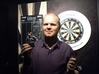 2011 Rivernear Worlds Professional Crazy Golfers Darts Champion Brad 'The Fist' Shepherd