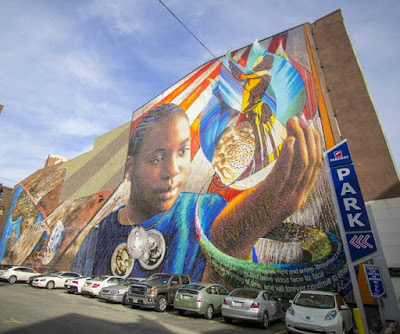 LINCOLN LEGACY Street Art Wall Mural in Philadelphia Pennsylvania