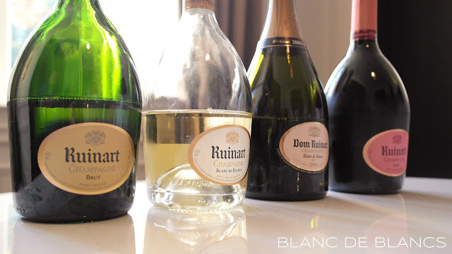 Ruinart tasting - www.blancdeblancs.fi
