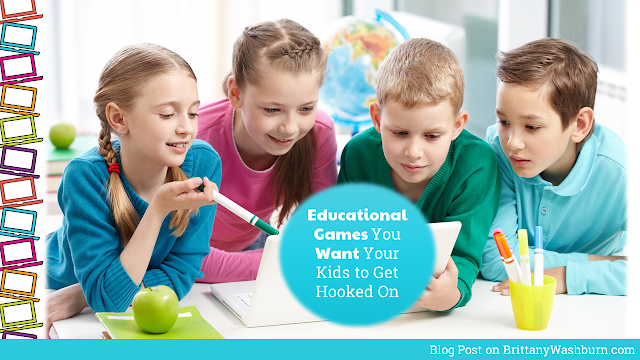 Educational Games You Want Your Kids to Get Hooked On