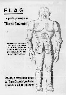 A Gazetinha - Garra Cinzenta - Renato Silva