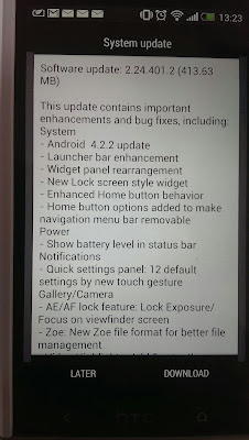 HTC One updated to Android 4.2.2 Jelly Bean in UK and Europe, Asia to follow next week