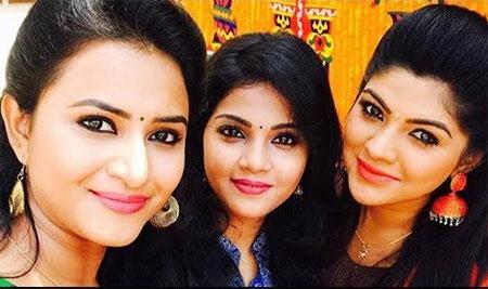 Maapillai Serial Team FB LIVE From Location || Shyamili ,Janani ,Vaishal