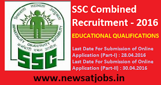 ssc+combind+recruitment+2016+educational+qualification