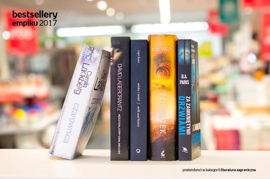00debfae7d46f8 ... którzy w 2017 roku potrafili podbić serca największej liczby odbiorców  w naszym kraju, bo do grona pretendentów trafiają wyłącznie ulubione książki,  ...