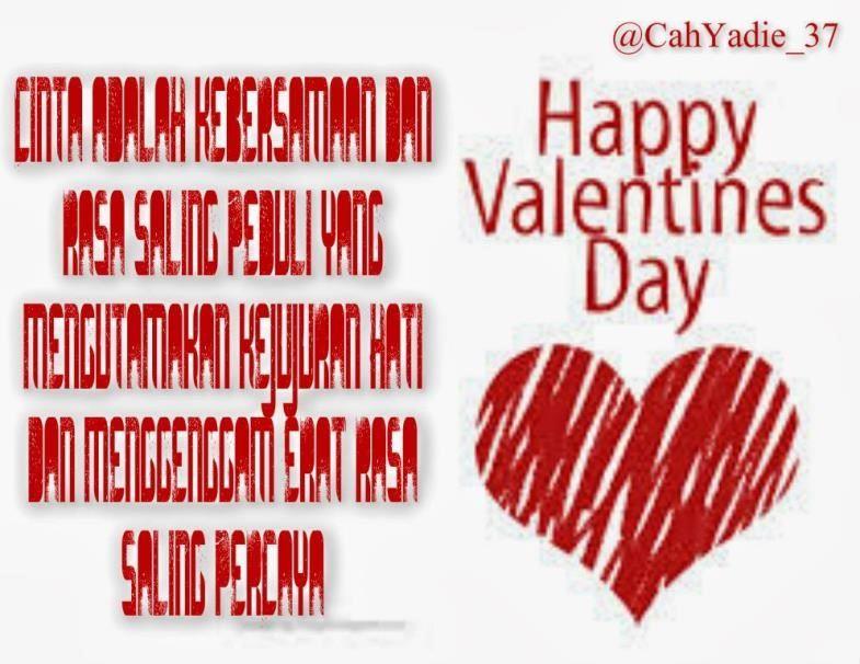 kata kata mutiara valentine day