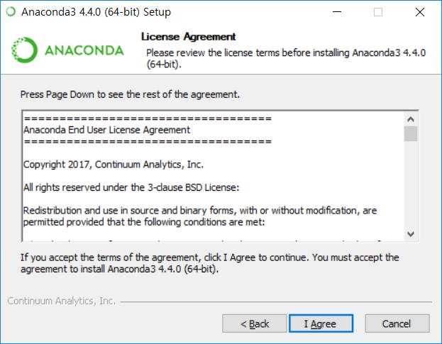 Anaconda3 설치 - 답정너 아이 어그리 -.-;