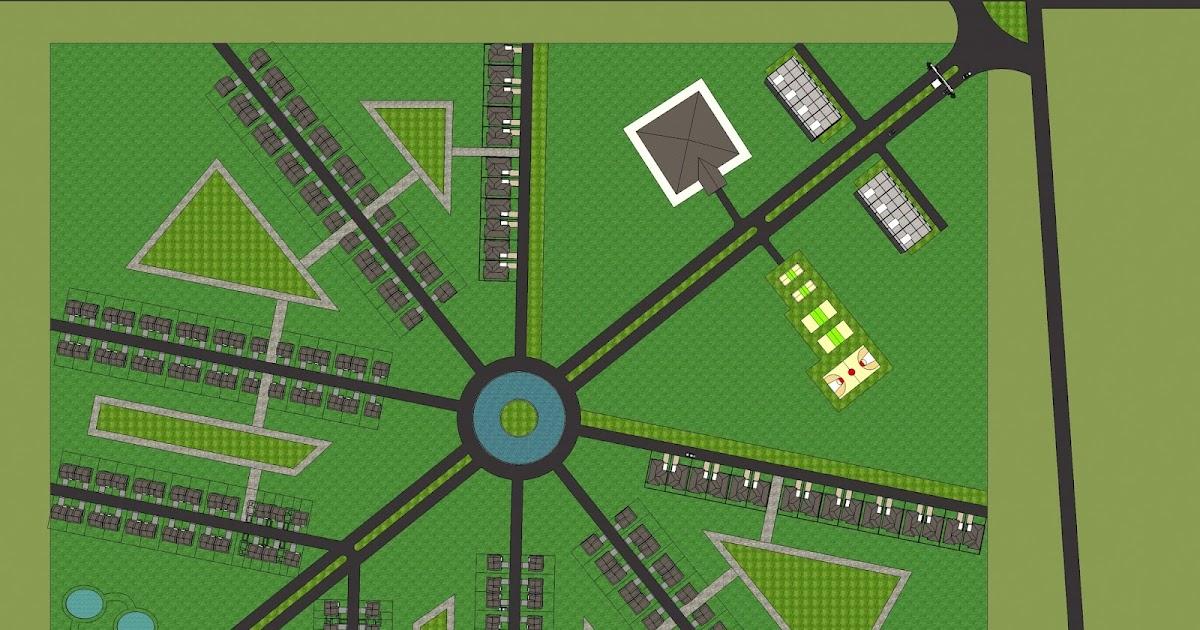81 Desain Kawasan Perumahan HD Terbaru