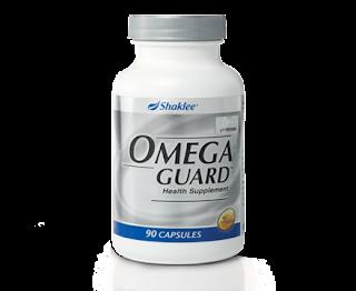 OmegaGuard, Omega-3, DHA, EPA, Set Kurus Shaklee,