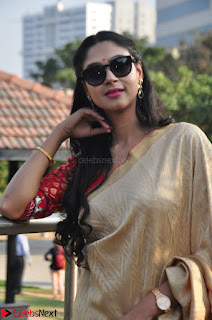 Angana Roy in Silk Saree at Teaching Tree Carnival .xyz 035.JPG