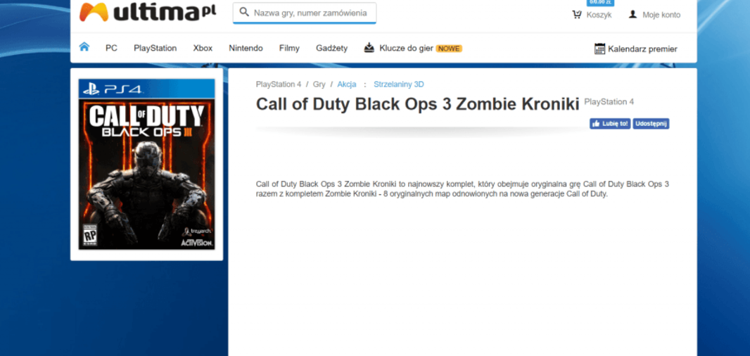 Se filtra nuevo DLC de zombies para Call of Duty Black Ops III, Zombie Chronicles