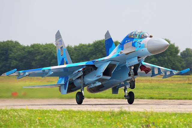 Ukrainian Su-27 Flanker Air Tattoo