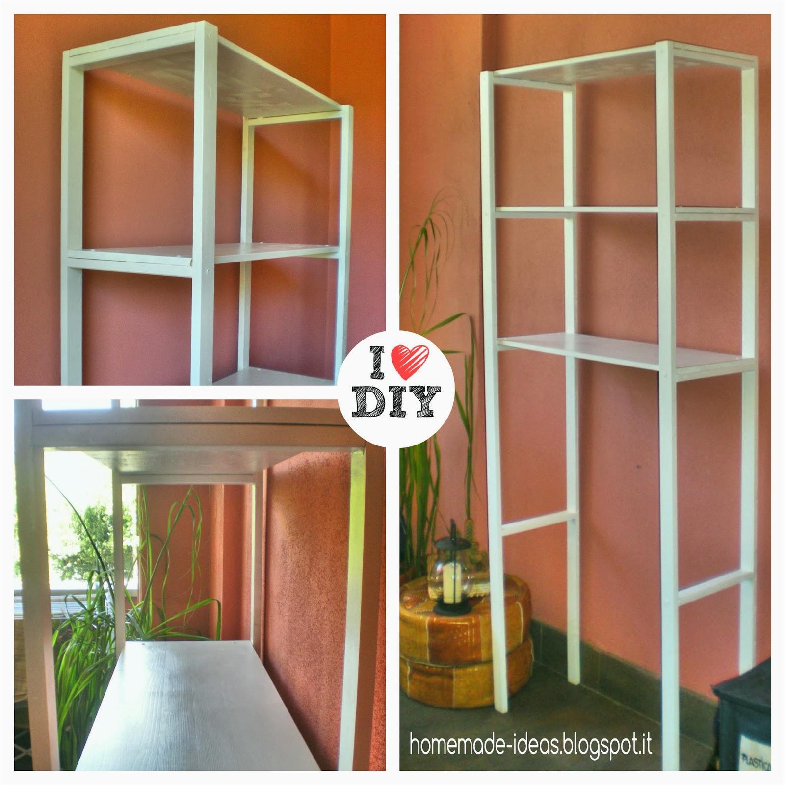 Excellent finest elegant scaffali fai da te home made ideas costruire uno scaffale su misura per - Cantinetta vini ikea ...