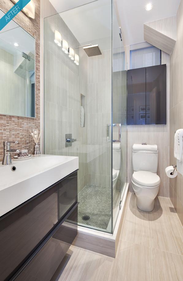 Blog Achados de Decoração: antes e depois em banheiros e quintal