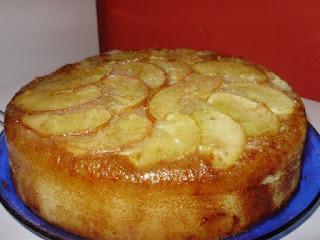 Receita de bolo de maçã ligth