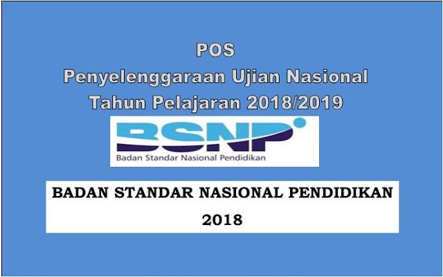 Unduh POS UN dan USBN SD SMP SMA SMK Sederajat Tahun 2019