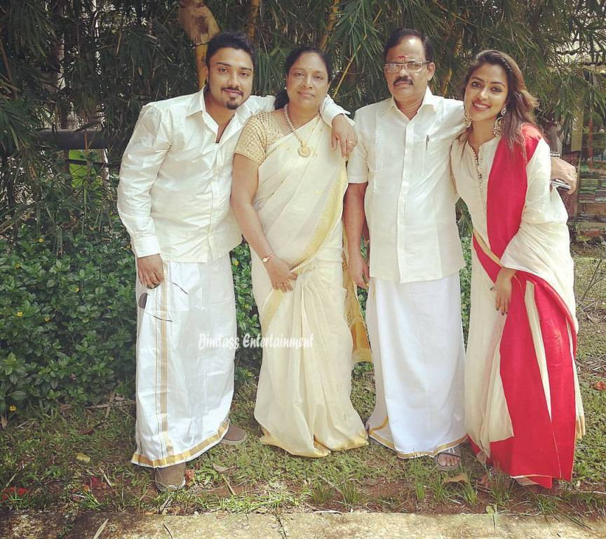 Amala Paul Family 4