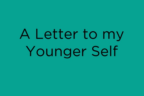 Writing a healing letter to my younger self