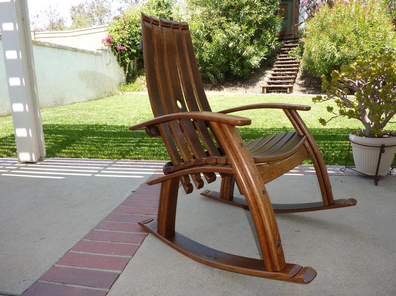 Handmade Rocking Chairs Corner Chaise Lounge Chair