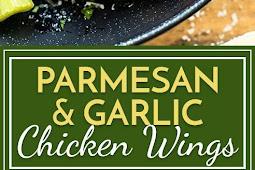 Parmesan and Garlic Baked Wings