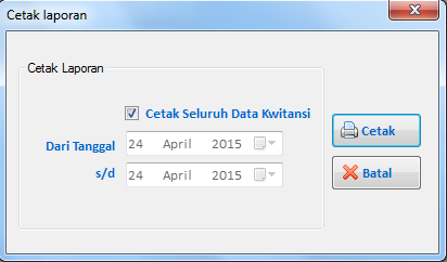 Tutorial Vb.Net : Form Export Database ke Microsoft Excel