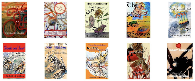 Michelle de Villiers: some book covers