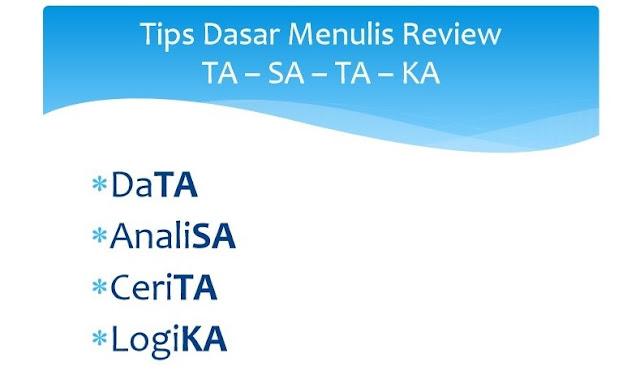 tips,menulis,review