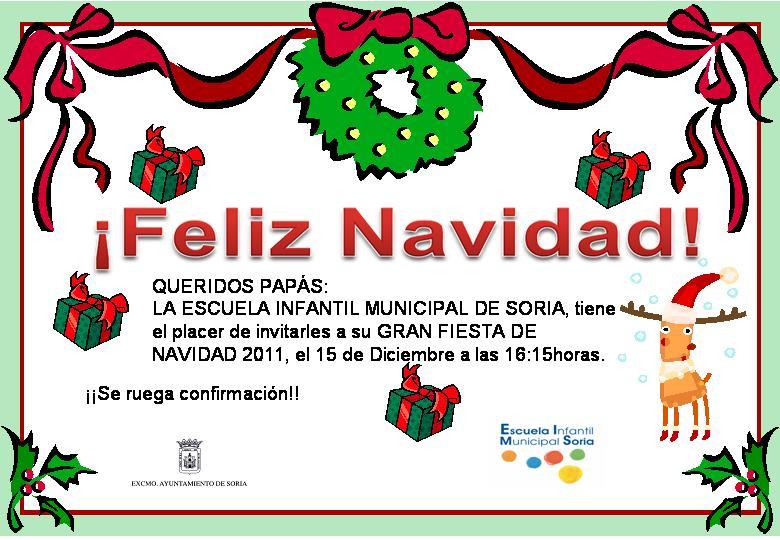 Invitacion Para Fiesta De Navidad Togo Wpart Co