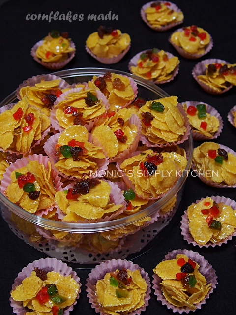 resep cornflakes madu renyah
