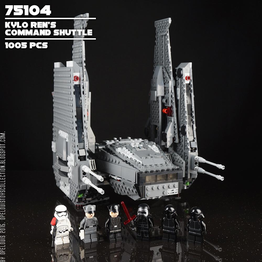 kylo ren space shuttle lego - photo #23