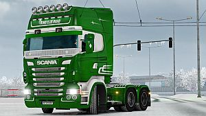 King Of The Road paint job for Scania RJL [LazyMods]