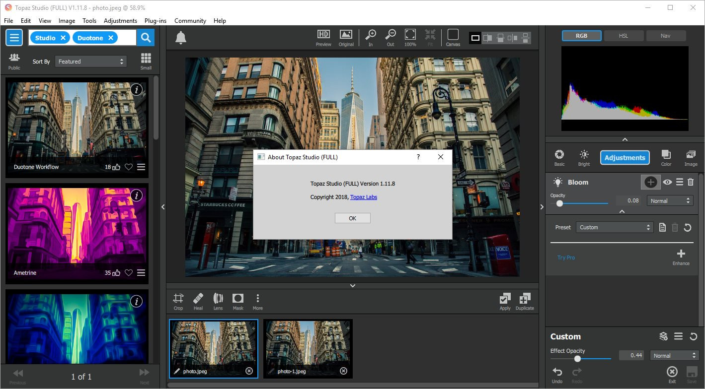 Topaz Plugins Complete Bundle for Photoshop 2018-12 WIN-MAC