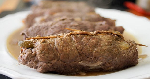 German Beef Rouladen Recipe