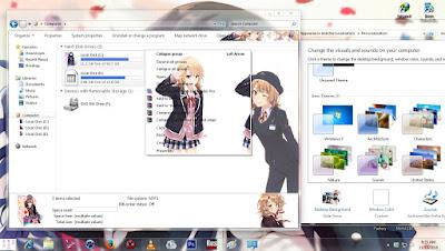 Theme Window 7 Oregairu Zoku [Ishiki Iroha] By AoAnime 3