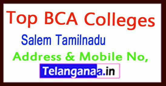 Top BCA Colleges in Salem Tamilnadu