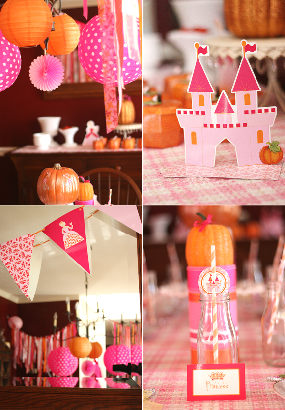 A Pumpkin Princess Birthday Tea Party Party Ideas Party
