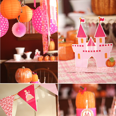 A Pumpkin Princess Birthday Tea Party