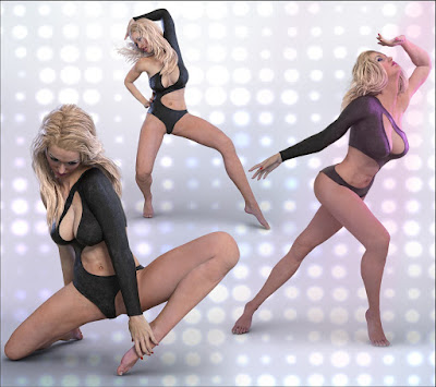 Z Power Dance - Poses for Gia 7 - Genesis 3 Female