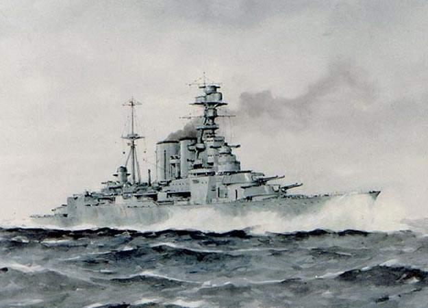 kapal perang inggris
