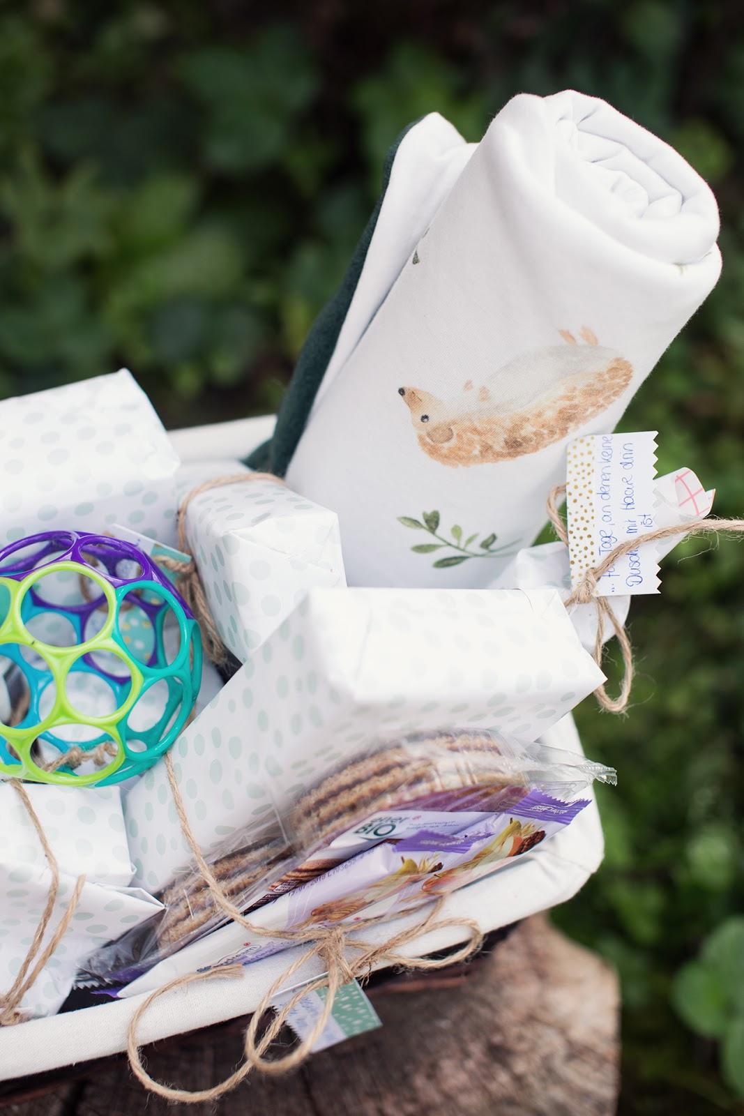 Inlovewith Geschenkidee Zur Geburt Baby Survival Kit Mit