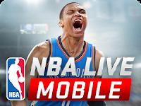 NBA LIVE Mobile Apk versi 1.0.8 Terbaru 2016