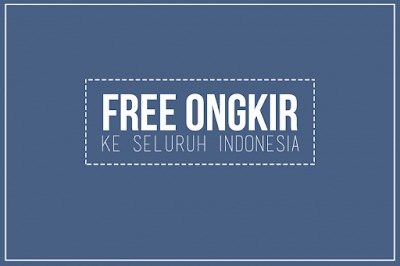 DITZ BRAND Gratis Pengiriman Ke Seluruh Indonesia