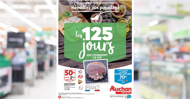 Catalogue Auchan Supermarché Du 10 Au 16 Octobre 2018