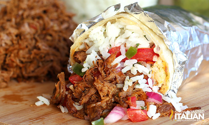 Chipotles Copycat Barbacoa #recipe #copycat #beef @SlowRoasted
