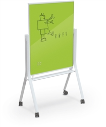 Dry Erase Board on Wheels