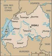 Peta Negara Rwanda