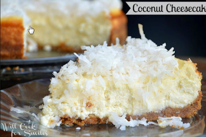 Coconut Cheese Cake Recipe