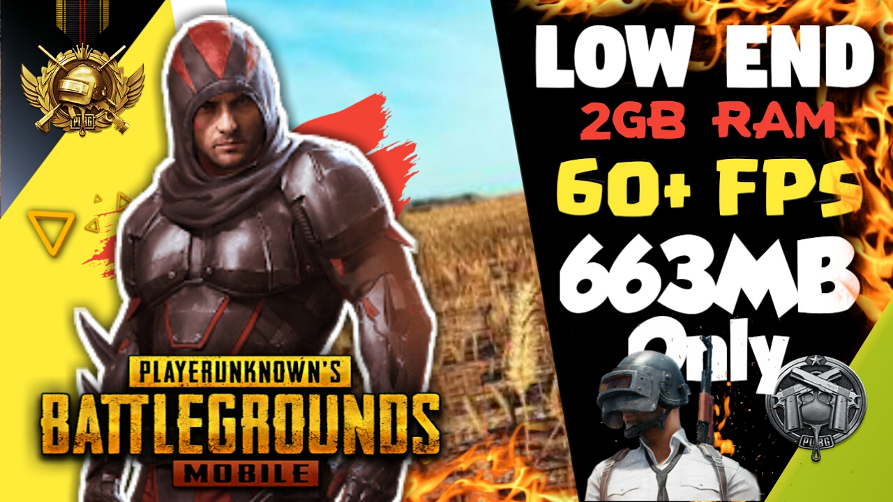 673MB] Download PUBG Mobile Game for Low End PC (2GB RAM