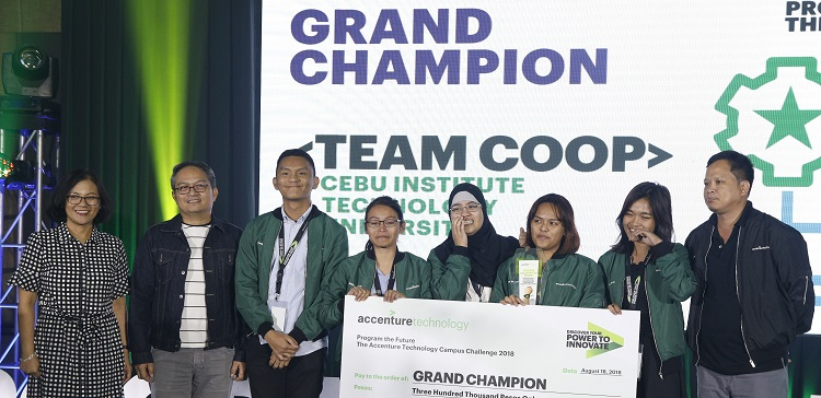 Cebu Institute of Technology University Wins the 2018 Program The Future Campus Challenge