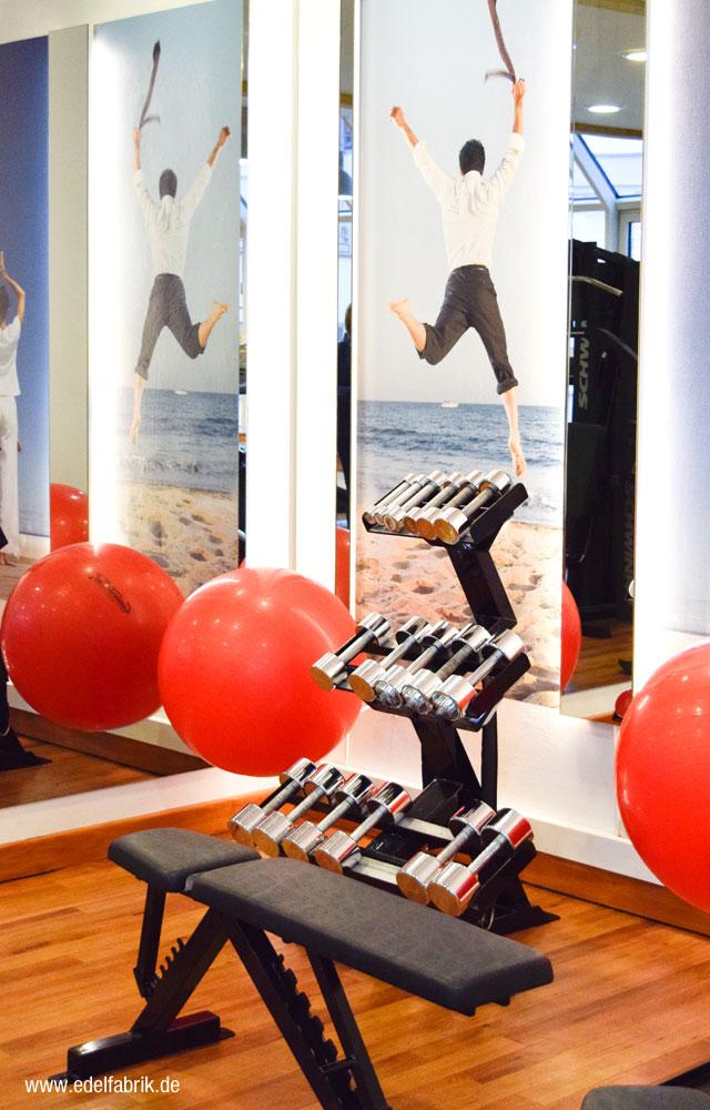 Fitnessbereich im Scandic Hotel Berlin Kurfürstendamm